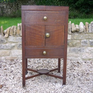 Antique Oak George III Pot Cupboard