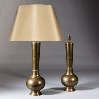 Pair Of Mogul Style Lamps