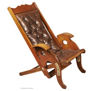 Colonial Folding Teak Chair