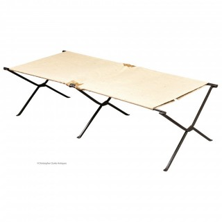 Folding Iron Camp Bed