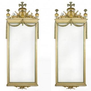 A pair of Majorcan Carlos IV mirrors