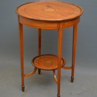 Truly Excellent Edwardian Satinwood Table