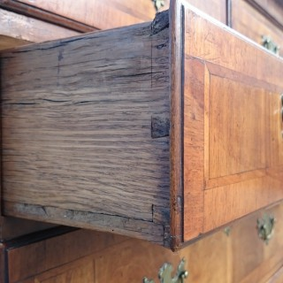 Antique Early 18th Century George I Walnut Chest On Chest