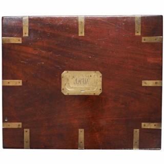 Large Brass Bound Box