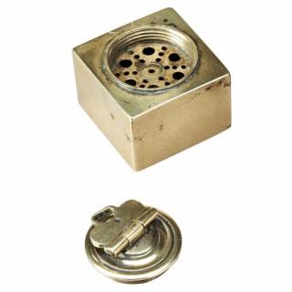Brass Pounce Pot