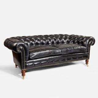 A fine late Victorian Chesterfield sofa
