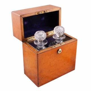 Victorian Oak Decanter Box