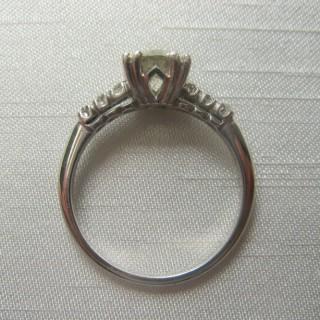 1.10 Carat Diamond Solitaire Platinum Engagement Ring