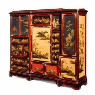 An Exhibition Quality Orientalist Cabinet by Quignon Fils