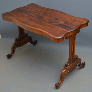 Fine Quality Early Victorian Side Table