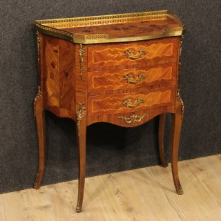 20th Century French Inlaid Small Dresser