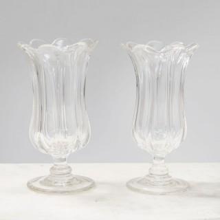 Pair Of Celery Vases