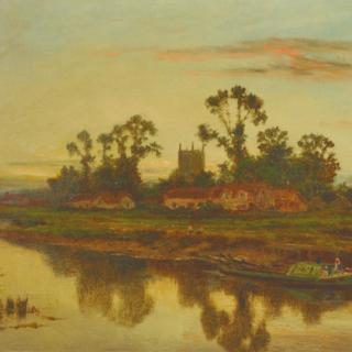 Daniel Sherrin. An Evening on the Severn