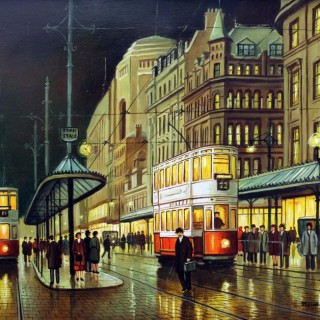 Stephen Scholes. Piccadilly Manchester.