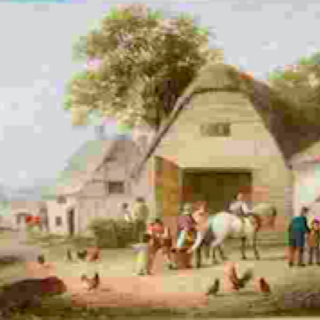 Georgina Lara.   Old Village Inns.   A Pair.