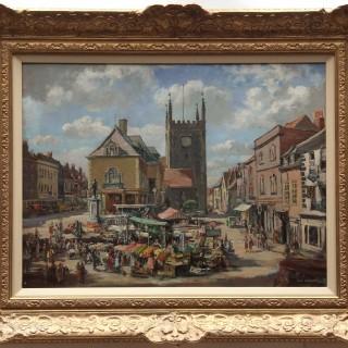 Max Hofler.  Wallingford Market