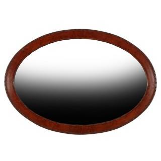 20th Century Oval Wall Mirror