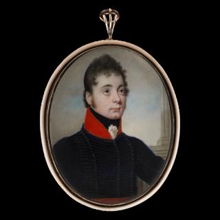 Portrait miniature of an Officer of Light Dragoons, c.1800-10