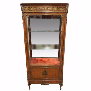 French Kingwood Vitrine