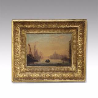 19th century oil on canvas by W Calvert 1828 - 1913