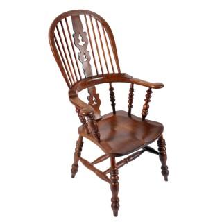 Broad Arm Windsor Chair