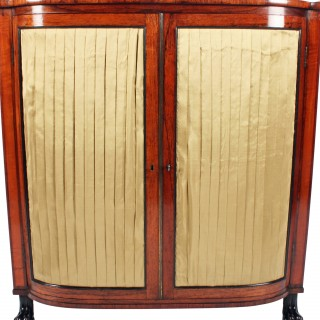 Regency Rosewood Side Cabinet