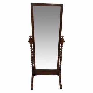 Jacobean Style Cheval Mirror