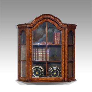 19th century Dutch display cabinet