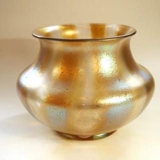 Loetz Candia Silberstreifen vase