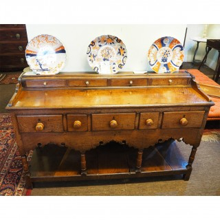 GORGEOUS SMALL 18th CENTURY DRESSER BASE