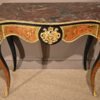 A Nineteenth Century French Louis Phillipe Boulework Side Table