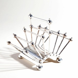 Hukin And Heath Articulated Letter Rack