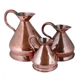 Three Victorian Copper Measures