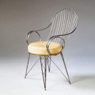 Modernist Steel Desk Chair