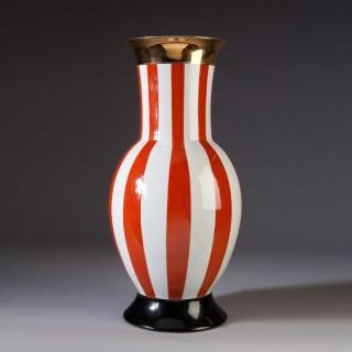 1950'S Style Vase In The Italian Carnival Style, Frederico De Luca