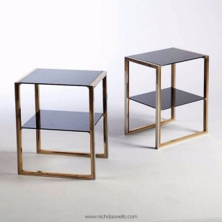 A Pair Of Willy Rizzo Tables