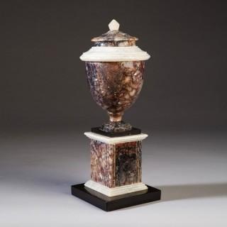 A George III Blue John vase