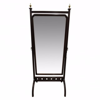 Georgian Style Cheval Mirror
