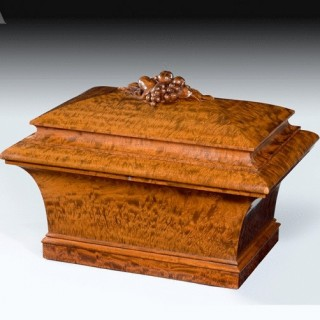 William IV Mahogany Cellaret