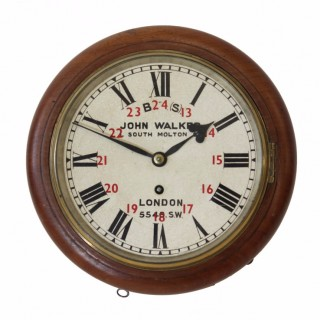 8-inch dial Railway Clock from Effingham