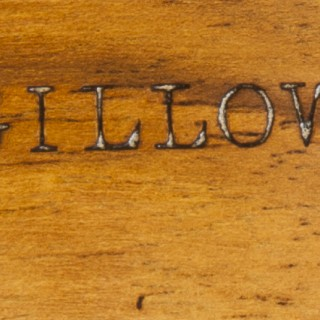 Burr Walnut and Marquetry Writing Table by Gillow