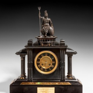 An historically important Royal Presentation clock commissioned by HRH Albert Edward