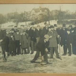 Antique Curling Photograph.