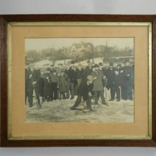 Antique Curling Photograph.