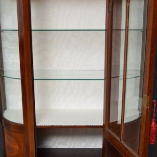 Fine Edwardian Mahogany Display Cabinet