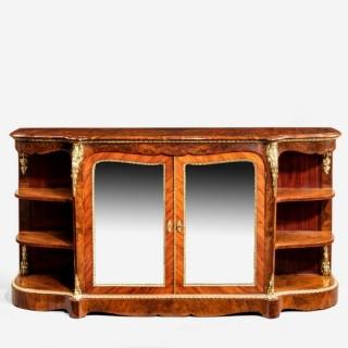 Maharajah sighns burr walnut side cabinet