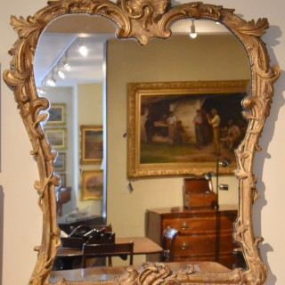 An Attractive Late 18th Century Continental Mirror