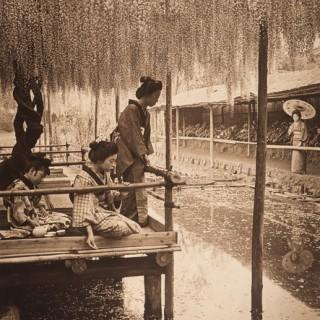 A Japanese carbon print by Herbert George Ponting [1870-1935]