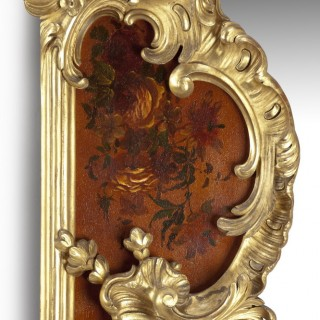 A large Giltwood and Vernis Martin Mirror by Louis Majorelle from the Dutch Royal Palace of Het Loo, 1888