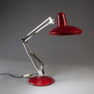 A Spanish anglepoise lamp by FASE
